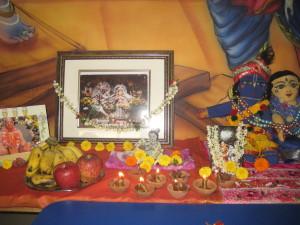 Damodara altar at Gokul Kidz.